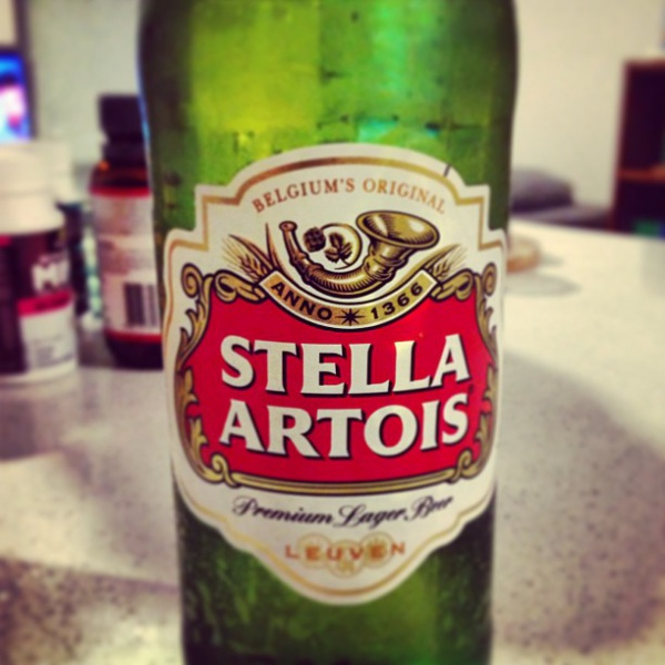 Parallel imported Stella Artois from UK!