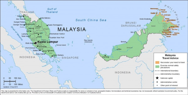 Malaysia Terrorist Warning